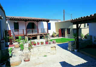 The Avli Courtyard, an Agrotourism project bed and breakfast establishmennt offering true Cypriot hospitality in an authentic Cyprus Village.