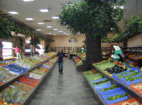 Fresh fruit and vegetables make up a large part of the Cypriot diet