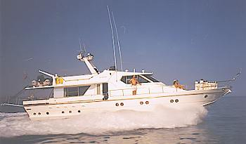 Phantom - A motor boat Sailing, chartering yachts in Cyprus