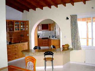 villa in paphos interior .property for sale in cyprus.