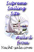 We give an award to sites with a yacht or sailing related content that we think deserves it.If you win, you will be added to our Award winners page and at the end of the year an overall top 3 will be chosen.